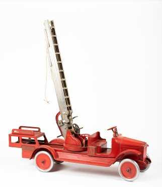 """""""Buddy L"""" Aerial Ladder Truck"""