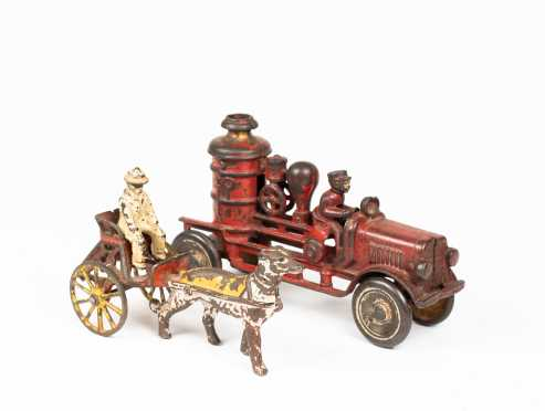 Two Cast Iron 19th/20thC Toys