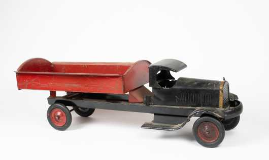 """Turner Toy"" Pressed Steel Dump Truck"