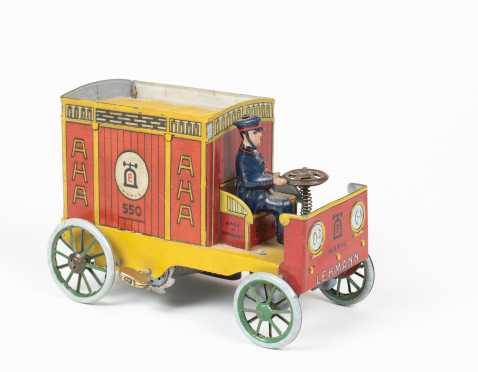 """Lehmann""- ""AHA"" Tin Toy Windup Truck"