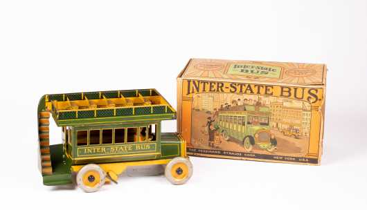"""""""Strauss"""" """"Inter-state"""" Bus with Box Toy"""
