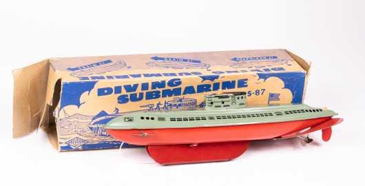 """Wolverine"" Diving Submarine with Original Box"