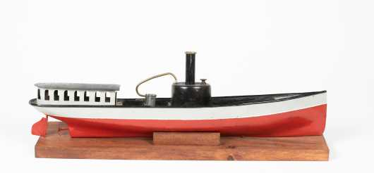 """""""Schonner"""" Live Steam River Boat Toy"""