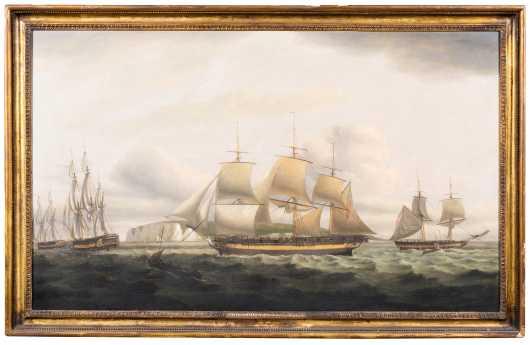 Thomas Luny, England (1759-1837)