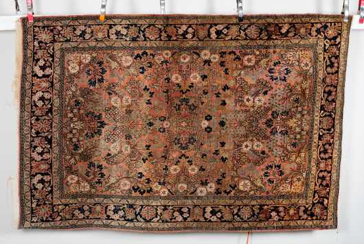 Sarouk Scatter Size Oriental Rug *AVAILABLE FOR OFFERS*