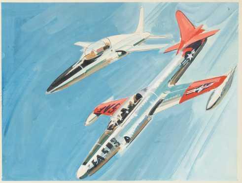 Jo Kotula, American (1910-1998) Illustrator