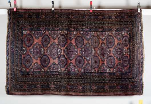 Bokhara Scatter Size Oriental Rug