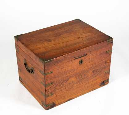 English Mahogany Liquor Chest