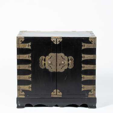 20thC Chinese Hardwood Cabinet