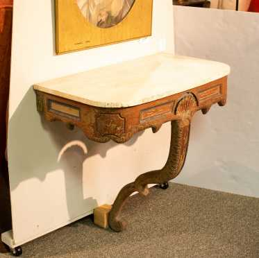 18thC Italian Painted Console Table