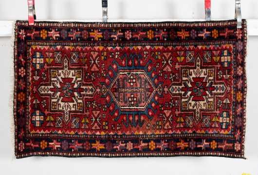 Heriz Style Scatter Size Oriental Rug