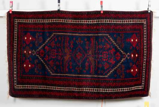 Afgan Oriental Scatter Rug