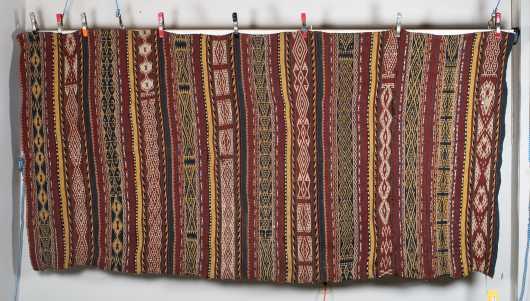 """Uzbek Kilim"" Room Size Oriental Rug"