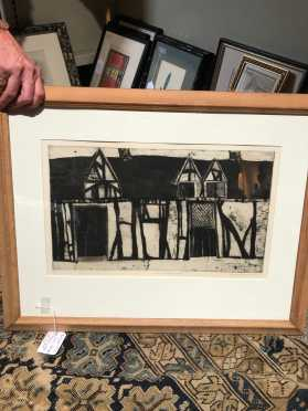 Naomi Bitterman Limited Edition Framed Print, Pencil Signed