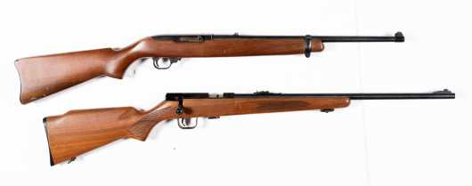 A Pair of .22 Caliber Rifles