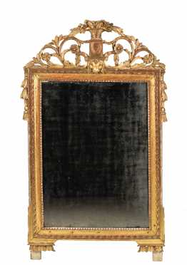 18th/19thC Gilded French Mirror
