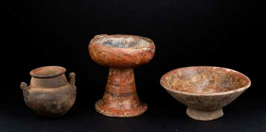 Three Pre Columbian Bowls *AVAILABLE FOR REASONABLE OFFERS*