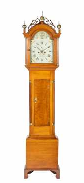 Silas Parsons, Swanzey, NH (1773-1859) Tall Clock