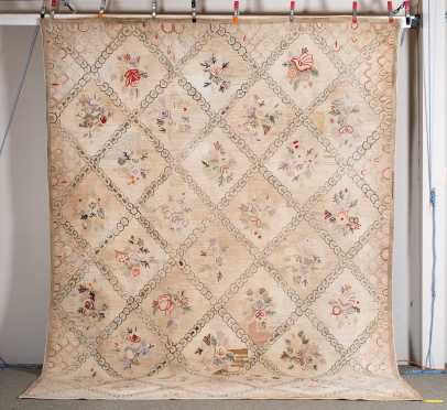 American Room Size Hooked Rug