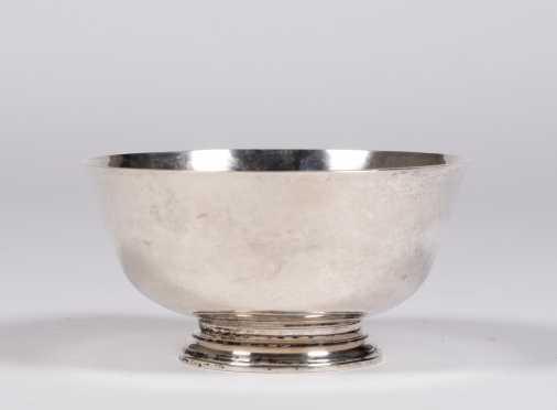 "8"" Diameter ""Arthur Stone"" Paul Revere Style Bowl"
