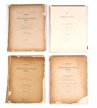 Ethnographic Reports 4 Volumes, Boas, American Museum of Natural History 1900-1902