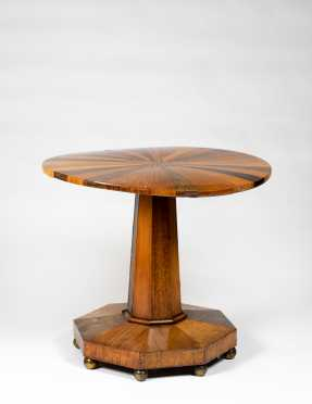 Empire Multi Wood Tea Table