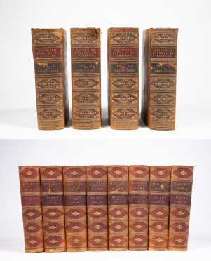 Two Leather-Bound Sets