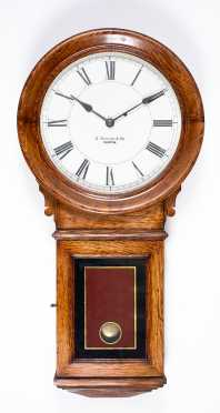 E. Howard & Co., Boston Oak Wall Clock