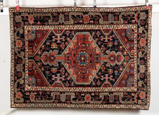 Heriz Scatter Size Oriental Rug
