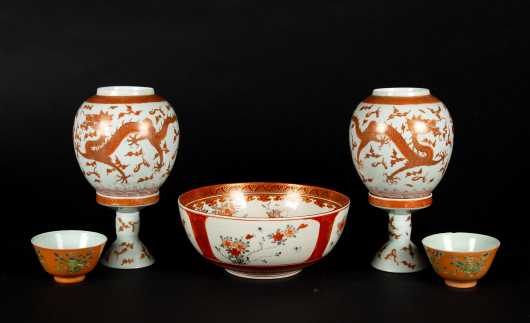 Chinese and Japanese Antique Porcelain