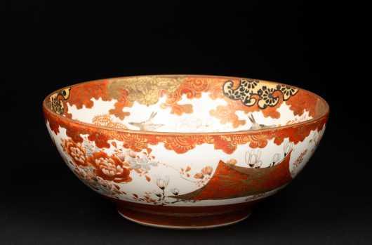 Japanese 19thC Kutani Bowl