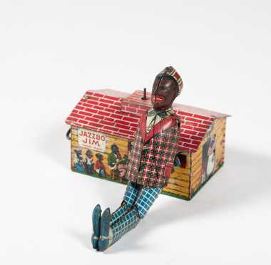 Jazzbo Jim Dancer, Unique Art Tin Toy