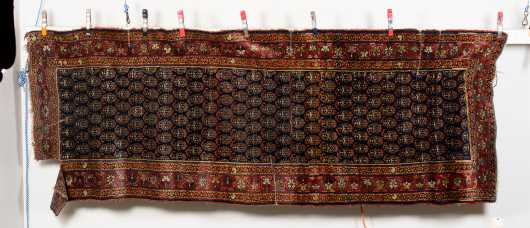 Antique Hamadan Oriental Rug Runner