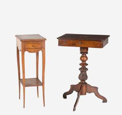 Two French Work Tables