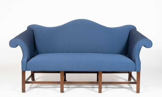 Small Newport Chippendale Style Sofa