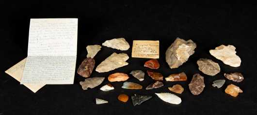 Native American Arrowhead Collection