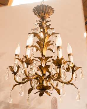 20thC French Style Electric Chandelier