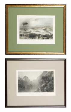 Two White Mountain, New Hampshire Prints