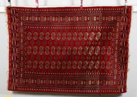 Pakistan Bokhara Scatter Size Oriental Rug