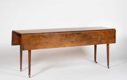 Hepplewhite Style Pine Harvest Table