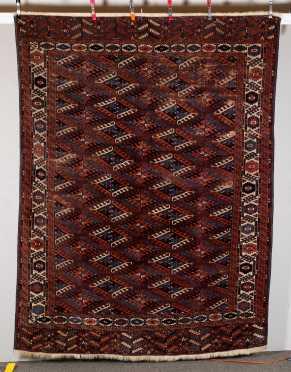 Tekke Yomut Room Size Oriental Rug