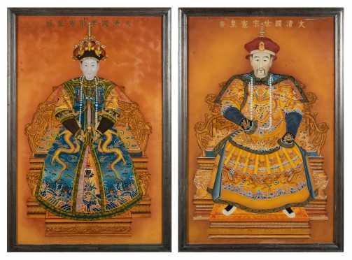 Chinese Ancestor Portraits