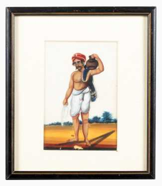 Indian Oil Painting on Mica *AVAILABLE FOR REASONABLE OFFERS*
