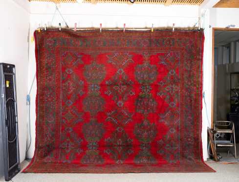 Turkish Oushak Style Room Size Oriental Rug
