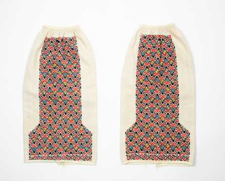 Pair of Amish Stitch Decorated Sleeves