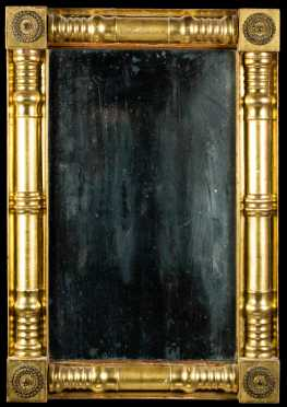 Gilt Split Column Empire Mirror