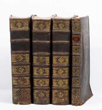 """Pierre Bayle, """"Dictionaire Historique et Critique,"""" 3 vols."""