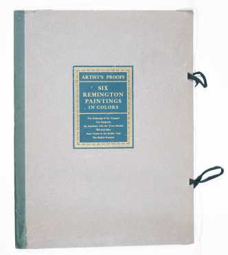 Frederic Remington Book