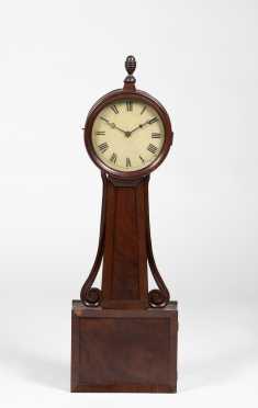 American Federal Mahogany Banjo Clock