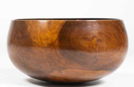Rare Hawaiian Kou Wood Carved Bowl